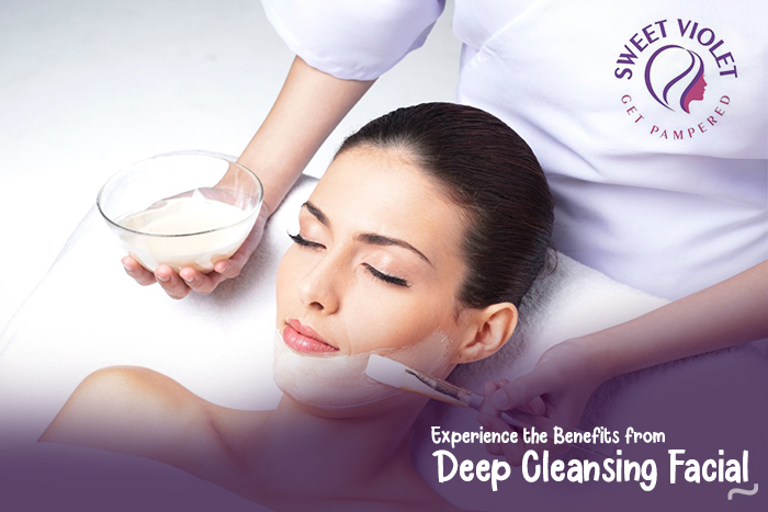 Experience the Benefits from Deep Cleansing Facial at Home
